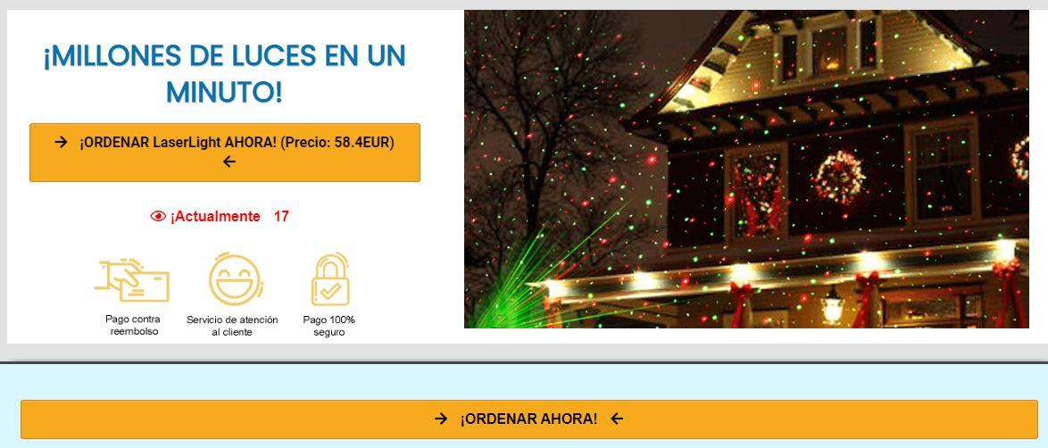 Laser Light Spain