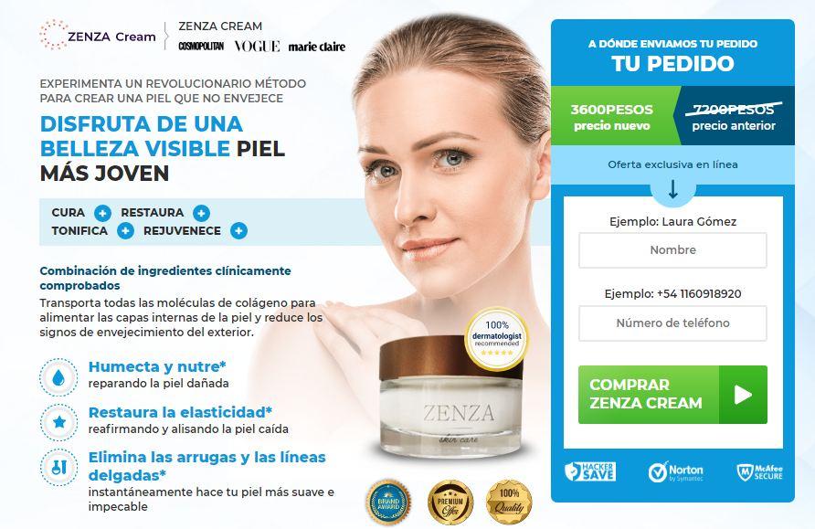 Zenza Cream Argentina