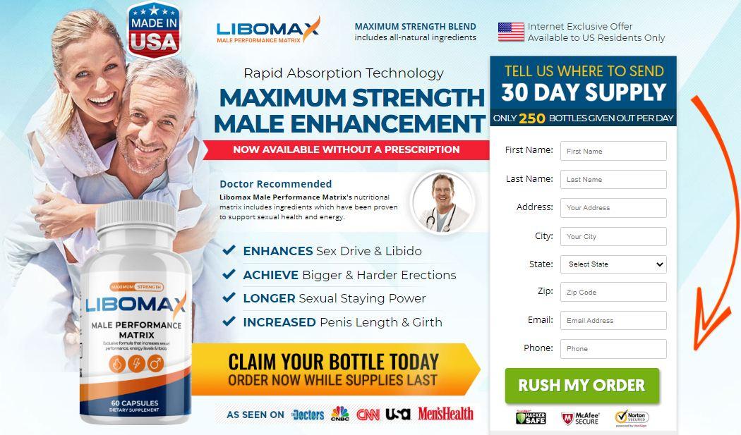 Libomax Male Performance Matrix